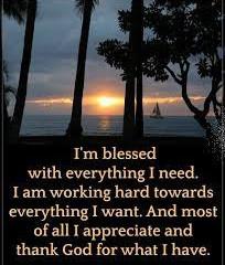 Tuesday Morning Inspiration - Thankfulness!