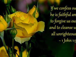 God's Promise of Forgiveness!