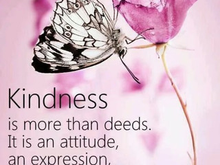 Thursday Morning Inspiration - Kindness!