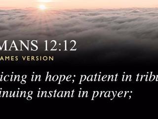 Sunday Morning Inspiration - Patience!