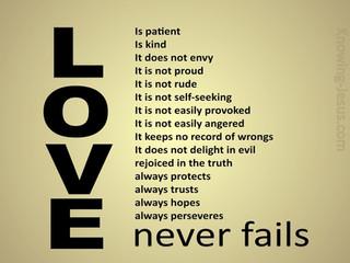 Sunday Morning Inspiration - Love!
