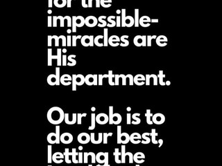 Thursday Morning Inspiration - Trust God!