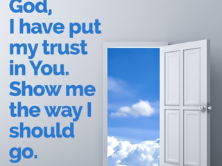 Tuesday Morning Inspiration - Trust God!