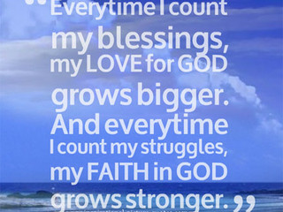 Friday Morning Inspiration - Faith!