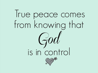 Saturday Morning Inspiration - Peace!