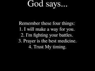 Saturday Morning Inspiration - God!