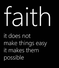 It is impossible to please God without faith.