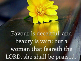 Characters of A Godly Woman!