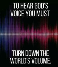 Hearing God's Voice!