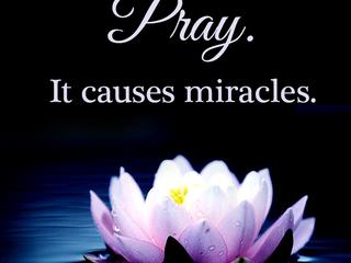 Sunday Morning Inspiration - Prayer!
