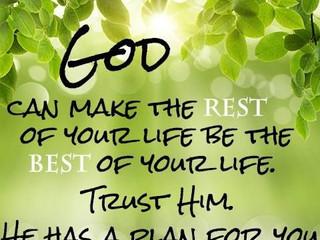 Trusting God!