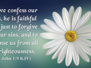 Sunday Morning Inspiration - Forgiveness!