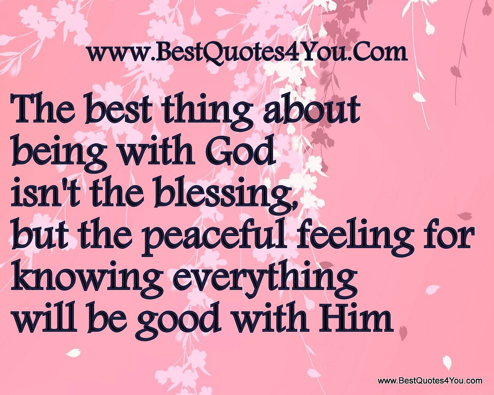 This week I am going to be sharing on blessings.