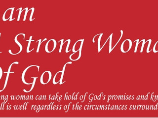 A Strong Woman of God!