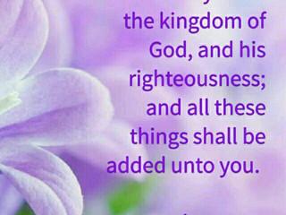 Keep God First!