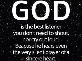 God Hears Our Prayers!