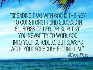 Time with God cannot be Rushed!