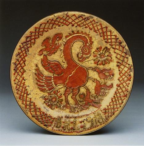《筒描皿ペリカン》1913年 出典Excite Japan