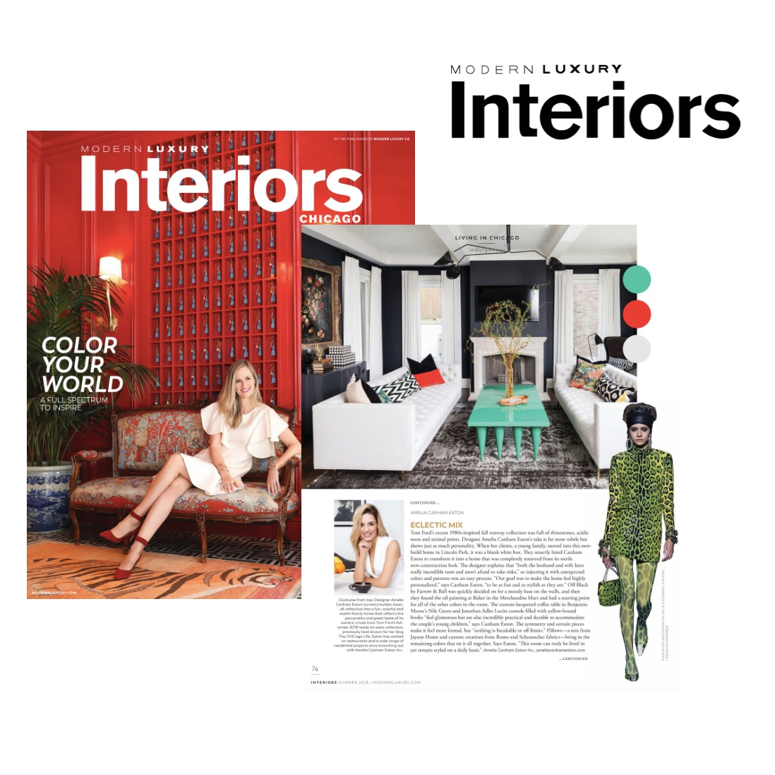 Modern Luxury Interiors, Summer 2018