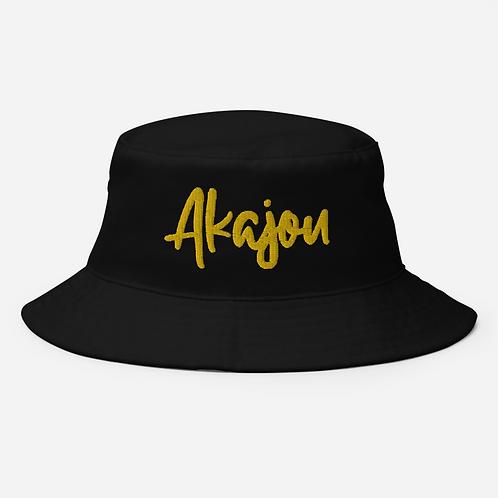 Akajou Black Gold bucket hat