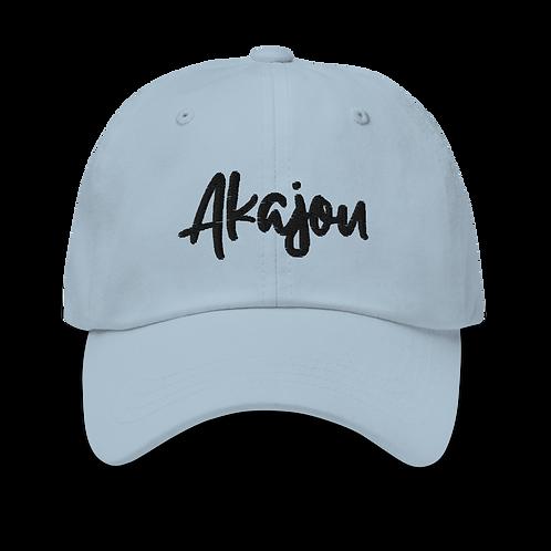 "Light Blue ""Akajou"" Logo hat"