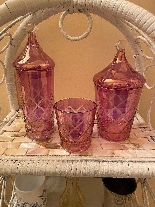 Vintage Pink Vanity Set