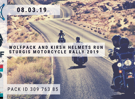 WolfPack and KIRSH Helmets at Sturgis Motorcycle Rally 2019