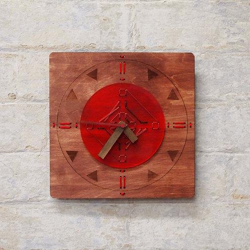 BURGANDY CLOCK