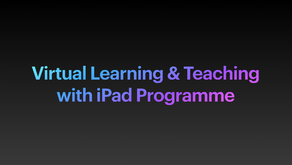 Virtual Learning & Teaching with iPad Programme