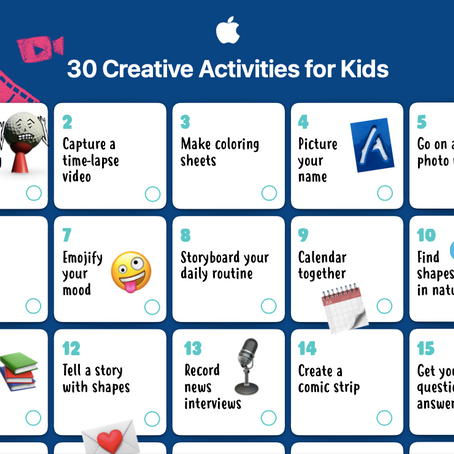 Looking for ideas to engage primary school students here are 30 Creative Activities for Kids