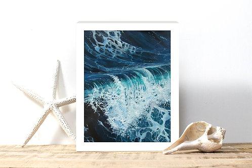 Rolling Wave - Reproduced Print of Original Art ($8 - $18)