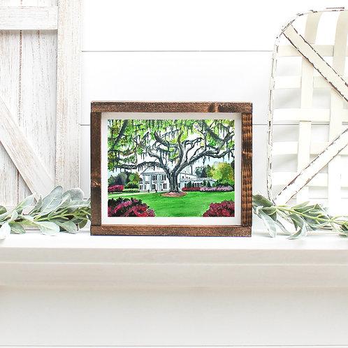 Orton Plantation -Reproduced Print of Original Art ($8-$18)
