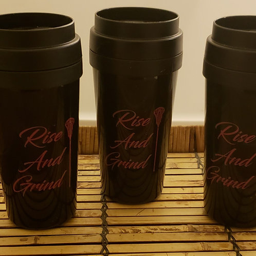 Rise and Grind Travel Mugs