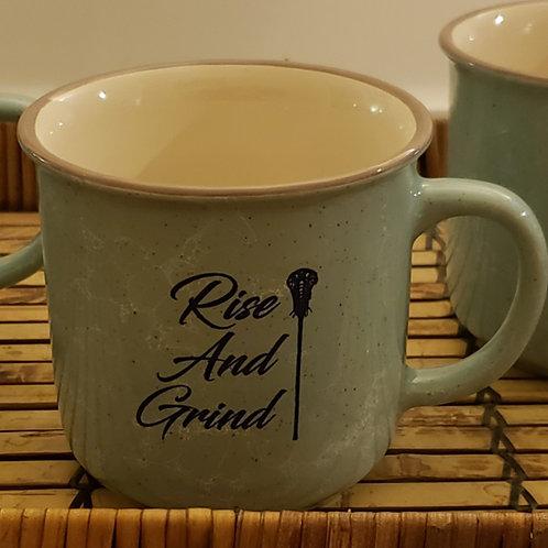 Rise and Grind Lacrosse Mug