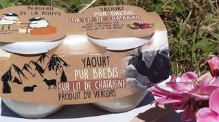 Medaille d'argent fromaniac pour notre yaourt bicouche à la chataigne 2019