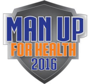 Man Up For Health 2016 logo