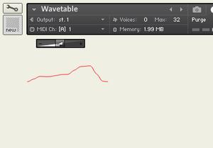 Kontakt 6 KSP Wavetable Control - UI_Wavetable