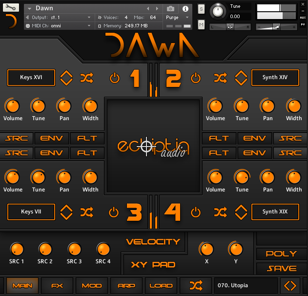 Dawn by Ecliptiq Audio