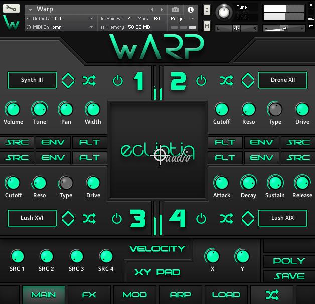 Warp by Ecliptiq Audio