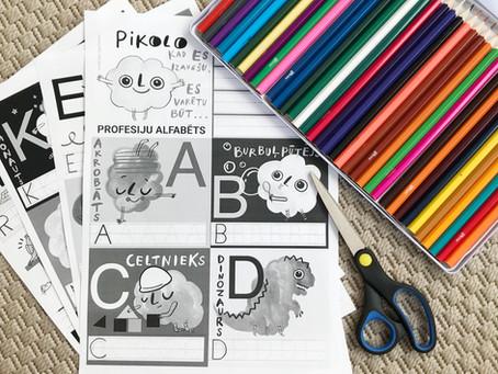 Alfabēta kartiņas (PRINT)