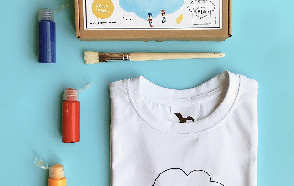 T-krekla apgleznošanas komplekts