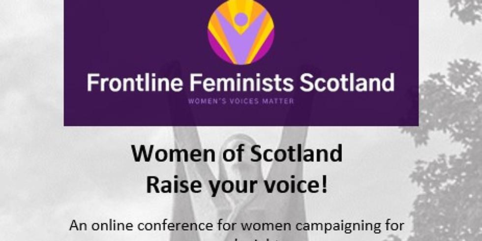 Women of Scotland; Raise Your Voice! Conference