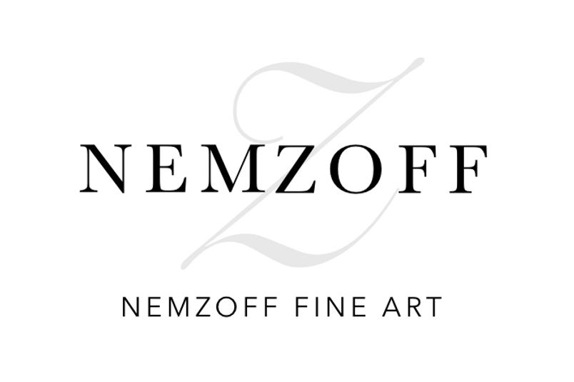 Nemzoff Fine Art NEMZOFF FINE ART LOGO W
