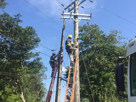 Ação de melhoramento e manutenção da rede