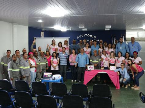 CERCI promove palestras de prevenção contra o câncer de mama