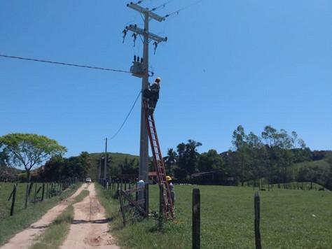 Melhorias na rede elétrica
