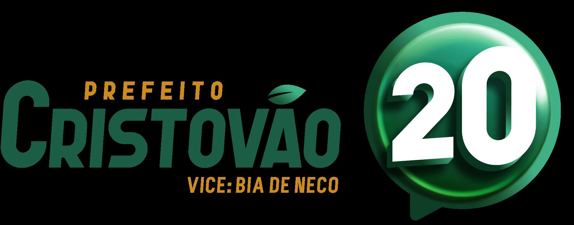 Prefeito Cristovão - Logotipo e Número -