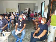 Reunião da Associação de Alto do Jacu em Sambaetiba no dia 27/02/21.
