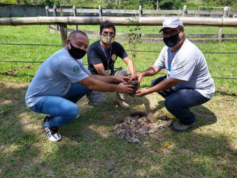 Participação de evento no Centro Educacional Ambiental (SOS Vida Silvestre).