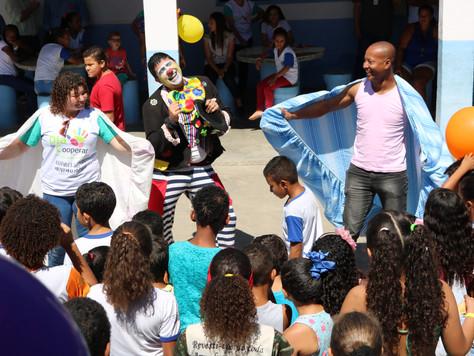"""CERCI realiza Dia """"C"""" em escola pública de Rio Bonito"""